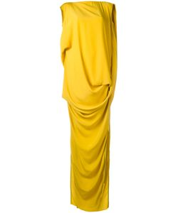 Rick Owens | Noveau Gown 42 Acetate/Silk