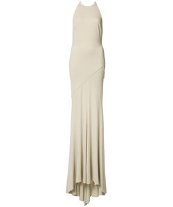 Alexandre Vauthier   Open Back Fitted Gown 38 Viscose/Spandex/Elastane