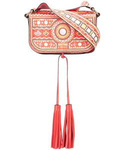 Moschino | Mexican Embroidery Shoulder Bag Leather