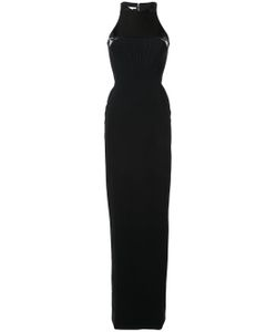 Antonio Berardi | Contrast Panel Gown Dress