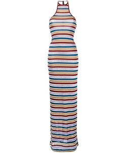 Dsquared2 | Stripe Maxi Dress Medium Viscose/Polyester/Polyamide