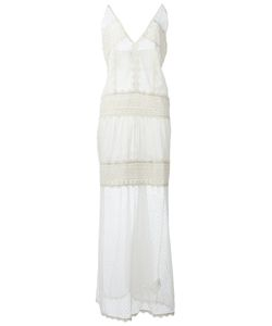 Just Cavalli | Long Layered Lace Dress Size 42