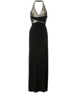 Lanvin | Платье С Вырезом-Халтер