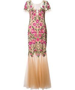 Marchesa Notte | Embroidery Dress 4 Nylon