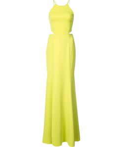 Marchesa Notte | Tassel Detail Cut-Out Gown Size 4