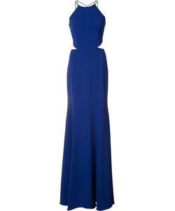 Marchesa Notte | Tassel Detail Cut-Out Gown Size 10