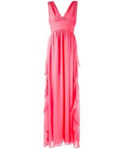 MSGM | Вечернее Платье С V-Образным Вырезом