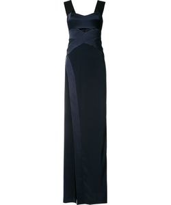 GALVAN | Cut-Out Chest Maxi Dress Size