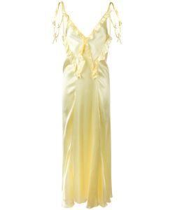ATTICO   Ruffled Maxi Dress 2