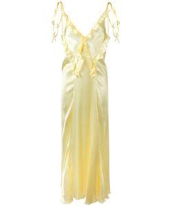 ATTICO | Длинное Платье С Рюшами