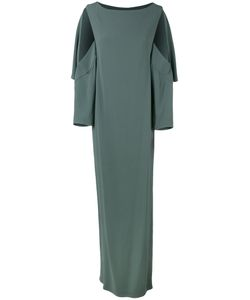 Chalayan | Open Sleeve Dress 38 Acetate/Viscose