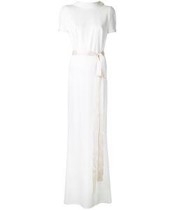 Paule Ka   Short Sleeve Gown