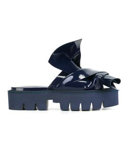 No21 | Knotted Slider Sandals 40 Pvc/Rubber/Rubber