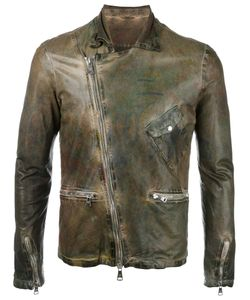 Giorgio Brato | Leather Jacket 48 Cotton/Leather/Nylon