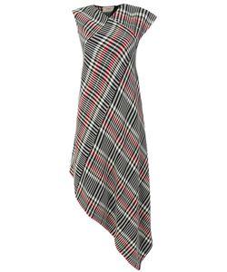 Ports | 1961 Asymmetric Check Pattern Dress Women