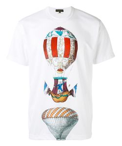 COMME DES GARCONS HOMME PLUS | Comme Des Garçons Homme Plus Illustrated Voyager Print T-Shirt