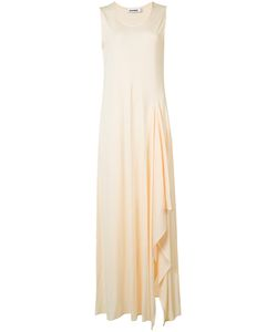 Jil Sander | Long Drape Detail Dress Size 36