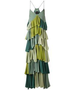 Erika Cavallini | Плиссированное Платье С Контрастными Панелями