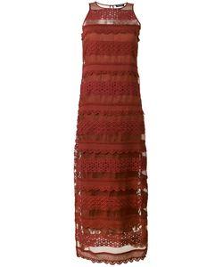 Twin-set | Кружевное Длинное Платье