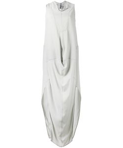 Rick Owens | Cadi Draped Gown 44 Acetate/Viscose