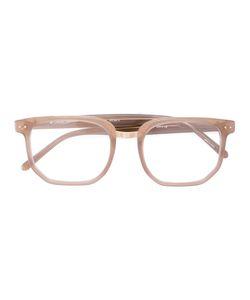 Linda Farrow | Hexagon Frame Glasses Acetate