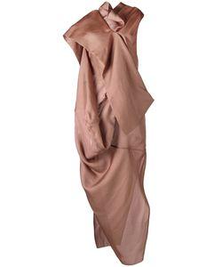 Rick Owens | Вечернее Платье Egret