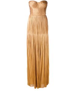 Maria Lucia Hohan | Strapless Ruched Gown