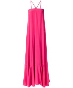 Adriana Degreas | Long Silk Dress Medium Silk