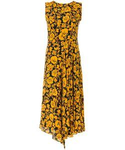 Kenzo | Платье Миди С Цветочным Принтом