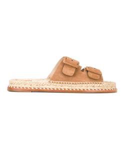 Paloma Barceló   Buckle Strap Sandals Size 38