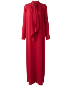 Sonia Rykiel | Pussy Bow Maxi Dress 46 Polyester/Triacetate