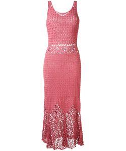 HARARE   Длинное Вязаное Платье