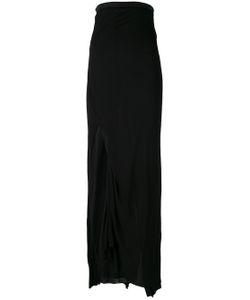 Rick Owens Lilies | Maxi Slit-Detail Skirt