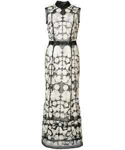 Marchesa Notte | Embroide Dress 4 Polyester