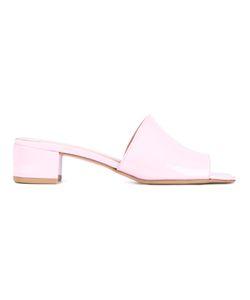Maryam Nassir Zadeh | Sophie Slide Patent Leather Sandals 37