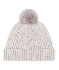 N.PEAL | Fur Bobble Hat