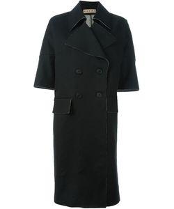 Marni | Пальто С Укороченными Рукавами