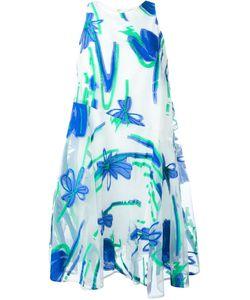P.A.R.O.S.H. | Жаккардовое Платье С Цветочным Принтом