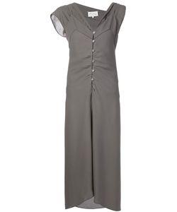Maison Margiela | Многослойное Платье Асимметричного Кроя