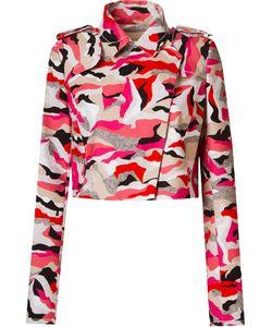 GIULIANA ROMANNO | Printed Crop Jacket