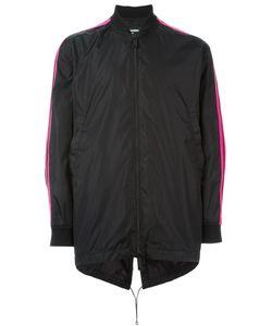 Dsquared2 | Куртка-Бомбер С Контрастными Полосками На Рукавах