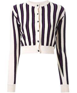 AKANE UTSUNOMIYA | Frayed Stripe Cardigan