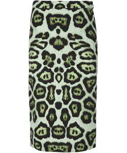 Givenchy | Леопардовая Юбка-Карандаш