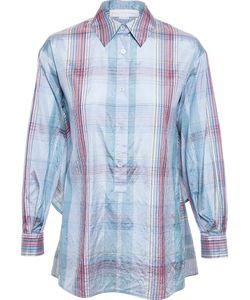 Stella Mccartney | Crop-Back Checked Shirt