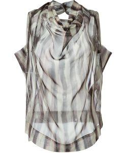 Vivienne Westwood Anglomania | Полосатая Блузка С Отвисающим Горлышком