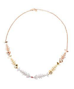 KAMUSHKI | Six Piece 18k Diamond And Sapphire Necklace