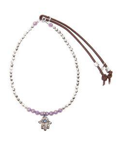 CATHERINE MICHIELS | Diamond Hand Pendant Necklace