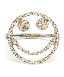 ROSA DE LA CRUZ | 18k Diamond Smile Ring