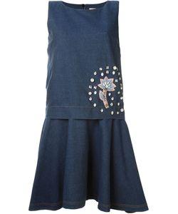 Antonio Marras | Джинсовое Платье С Декорированной Аппликацией