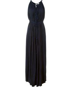 Lanvin   Длинное Плиссированное Платье